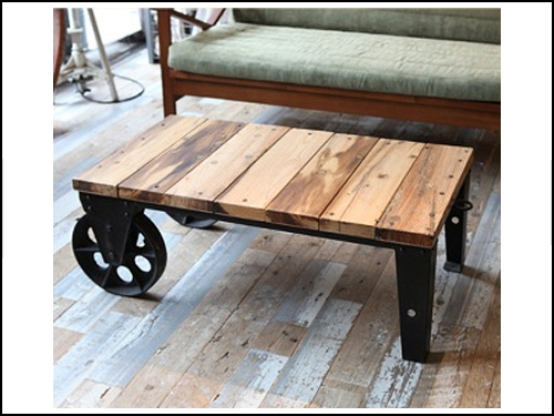 Journal standard Furniture BRUGES DOLLY TABLE (ブルージュ ドローリーテーブル) b114-012-001